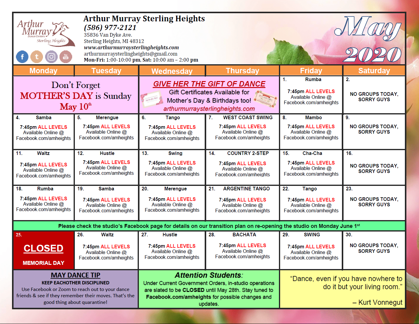 Arthur Murray Dance Studio - Sterling Heights